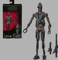 "Star Wars The Black Series IG-11 6"" Action Droid Hasbro Exclus Figure PREORDER"