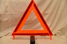 New listing (3) High Visibility Triangle Emergency Warning Kit Made In Usa Dot Safety