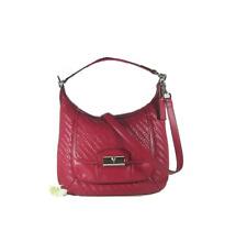 Coach Kristin Leather Convertible Hobo Crossbody Bag Handbag F19314 19314 Red