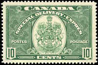 Stamp Canada Mint 1939 VF Scott #E7 10c Special Delivery Stamp Never Hinged