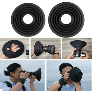 Lens Hood- Anti-Glass Reflective Silicone Lens Hood, Foldable Rubber Lens AU