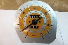 NOS GENUINE LANCIA Veglia 120MPH / 200km/h SPEEDOMETER BETA Coupe HPE Spider