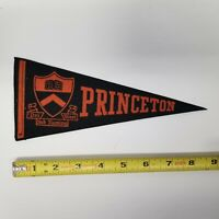 "Vintage Princeton University 9"" Pennant, Alumni Collectible"