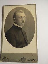 Freising - 1920 - Josef Scheuert ??? als Geistlicher - Portrait / CDV