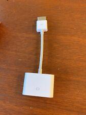 GENUINE Apple HDMI to DVI Adapter MJVU2AM/A OEM