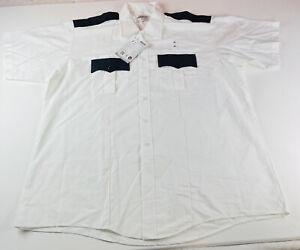 Elbeco Response Paragon Plus Shirt White EMT Mens Size XXL