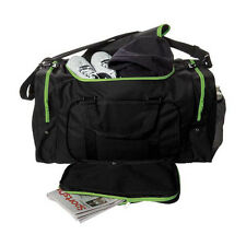 Blank Team Sports Bag 600D Polyester Green & Black Ready for Embroider FAST SHIP