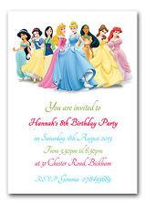 Princess/Fairies Theme Invitation