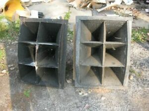 2   jewell   horns  for   western electric 555