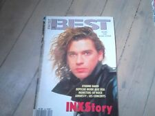 BEST N° 242  / SEPTEMBRE 1988 / INXS STORY ETIENNE DAHO / DEPECHE MODE /