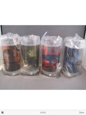 Set of 4 Star Trek Movie Glasses from Burger King new still factory sealed Nib