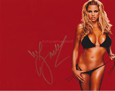 Jordan - Katie Price Hand Signed 8x10 Photo Autograph Big Brother Glamour ModelD