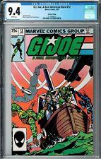 G.I. Joe, A Real American Hero #12 CGC 9.4 (Jun 1983, Marvel) 2nd Printing, Hama