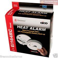 AICO EI164RC Professional Mains Lithium Battery Kitchen Garage FIRE HEAT ALARM