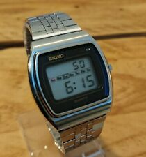 Vintage Seiko 0139-5000 lcd digital watch Date 1977 February