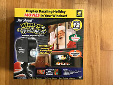 Star Shower Window Wonderland Window Projector 6 Christmas 6 Halloween Movies