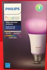 Philips Hue A19 White and Color Ambiance Gen 3 Smart LED Light Bulb BRAND NEW