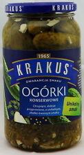 Krakus Eingelegte Gurken  (Ogorki konserwowe)  865 g