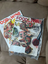 2 Issue Lot Food & Wine March April 2021 Life 29 Recipes To Shake Up You Wine
