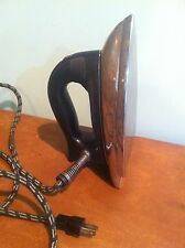 New listing Vintage Sunbeam Ironmaster Iron with Thumb Settings c. 1940s