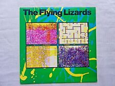 The Flying Lizards Self Titled 1979 Virgin VA-13137 Orig Geo. Piros Pressing VG+