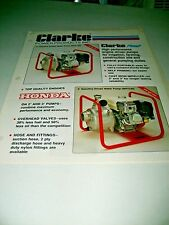 CLARKE POWER PRODUCTS , WATER PUMPS