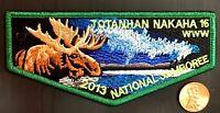 TOTANHAN NAKAHA 16 OA NORTHERN STAR COUNCIL MN PATCH 257 2013 JAMBOREE FLAP