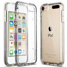 (2 Pack) For iPod Touch 6th Gen Case Clear Silicone Ultra Slim Gel Cover