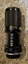 TAMRON 80-210MM F1:3.8 ZOOM METAL LENS FOR ALL CAMERAS WITH KONICA ADAPTALL