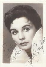Jean Simmons original signed photo AK 50er