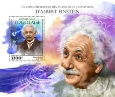 Togo Science Stamps 2020 MNH Albert Einstein Physics Famous People 1v S/S