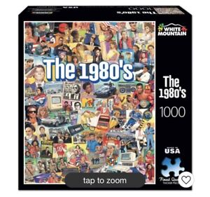 White Mountain- The 1980's- 1000 Piece Jigsaw Puzzle New