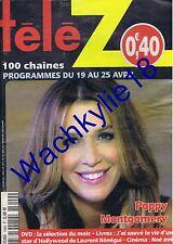 Télé Z n°1649 du 19/04/2014 Poppy Montgomery