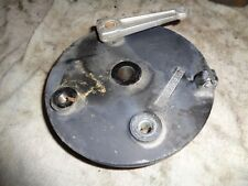 kawasaki kdx 250 1981 81 kdx250 complete front brake drum with lever