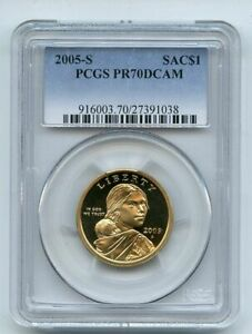 2005 S $1 Sacagawea Dollar PCGS PR70DCAM
