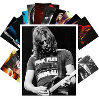 Postcards Pack [24 cards] DAVID GILMOUR & SYD BARRET PINK FLOYD Posters CC1325