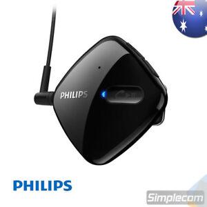 PHILIPS SHB5000 Clip Bluetooth Headphones Earphones Adapter Receiver Mic Headset