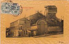 PARIS moulin de la galette timbrée 1907