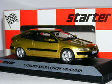 Starter E024 1997 Citroen Xsara 3-Door VTS Metallic Gold 1/43