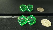 Gaffed gambling collectible dice casino 1-3-5 misspots