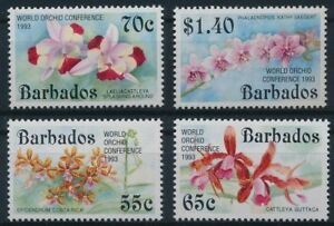 Barbados 1993 MNH, Flowers, world Orchids Conference