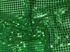 SQUARE SEQUINS FABRIC HOLOGRAM Sparkly Decorations Shiny Weddings Costumes Dress