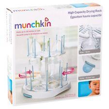 Munchkin High Capacity Drying Rack For Baby Bottles Lab Equipment - White