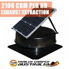 SolarKing Solar Panel Roof Ventilation Exhaust Heat Extraction Fan