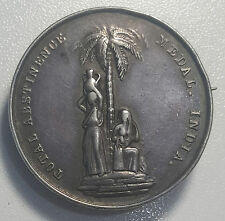 Total Abstinence Association India Medal 1862  Silver RARE