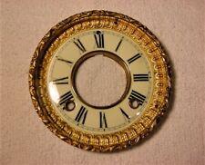 Antique Ansonia Open Escapement Mantle Clock Dial & Bezel Door * 1