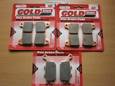 HONDA CBR1000 RR5 FIREBLADE 2005 > FULL SET FRONT & REAR BRAKE PADS < GOLDFREN