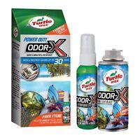 Turtle Wax Odor-X Whole Car Blast Kit Car Bomb & Air Freshener, Caribbean Crush