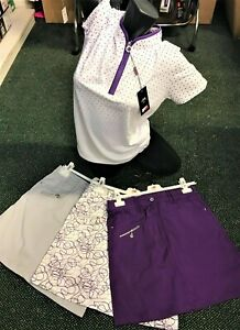 WOMENS BEAUTIFUL GOLF & SPORTS  SKORTS FROM £24.99 -GREAT PRICES + FREE P&P