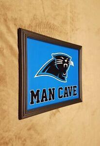 Carolina Panthers MAN CAVE Framed 8x10 Photo